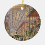Queen Victoria Opening the 1862 Exhibition after C Christmas Tree Ornament