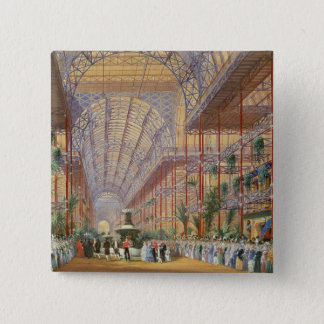 Queen Victoria Opening the 1862 Exhibition after C Pinback Button