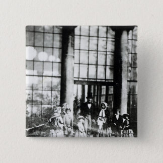 Queen Victoria & Prince Albert with their Pinback Button