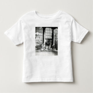 Queen Victoria & Prince Albert with their Toddler T-shirt