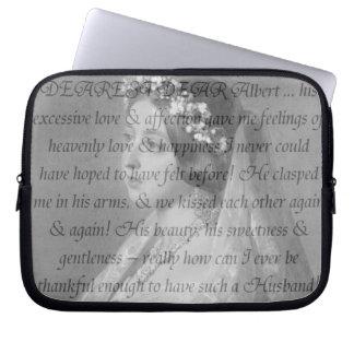 Queen Victoria Quote Laptop Sleeve