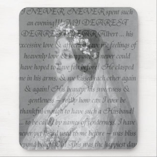 Queen Victoria Quote Mouse Pad