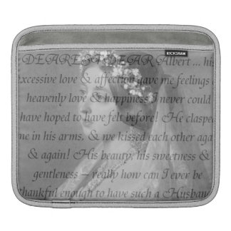 Queen Victoria Quote Sleeve For iPads