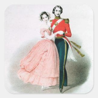 Queen Victoria Square Sticker