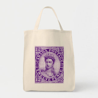 Queen Victoria Stamp Tote Bag