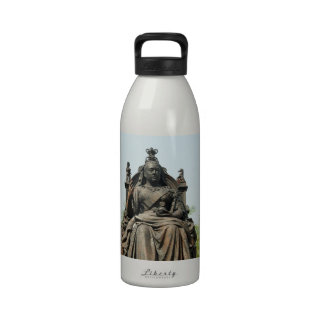 Queen Victoria Statue, Hong Kong Reusable Water Bottles