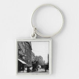 Queen Victoria Street, London, c.1891 Key Chain