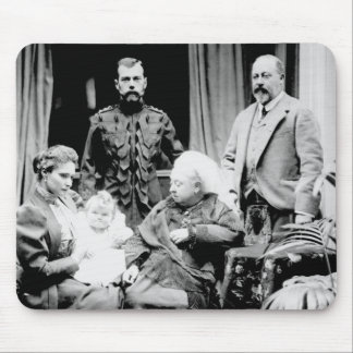 Queen Victoria, Tsar Nicholas II Mouse Pad