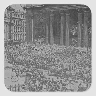 Queen Victoria's Diamond Jubilee, 1897 Square Sticker