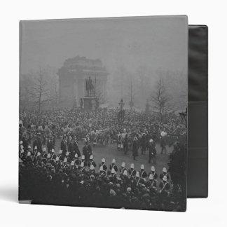 Queen Victoria's funeral cortege Binder