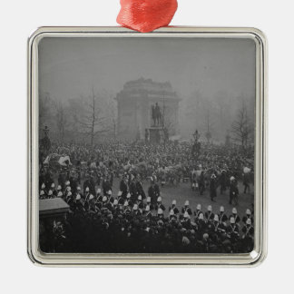 Queen Victoria's funeral cortege Metal Ornament