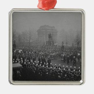 Queen Victoria's funeral cortege Metal Ornament