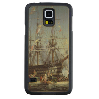 Queen Victoria's Visit to Cherbourg, 1858 Carved® Maple Galaxy S5 Slim Case