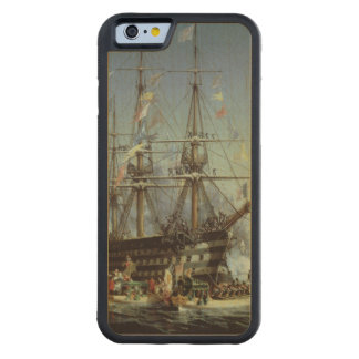 Queen Victoria's Visit to Cherbourg, 1858 Carved® Maple iPhone 6 Bumper Case