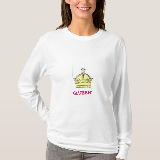 Queen w/Crown Design T-Shirt