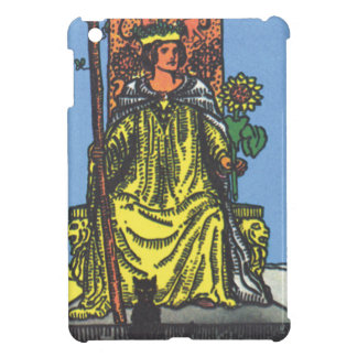 Queen Wands Tarot Card Fortune Teller iPad Mini Covers