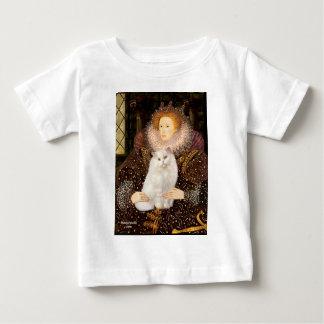 Queen - White Persian cat Baby T-Shirt