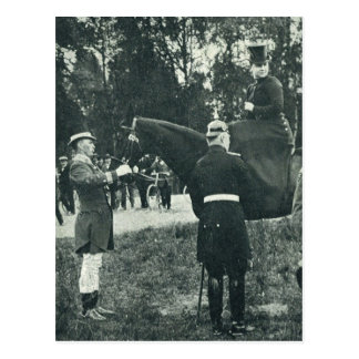 Queen Wilhelmina on horse sidesaddle #017SS Post Card