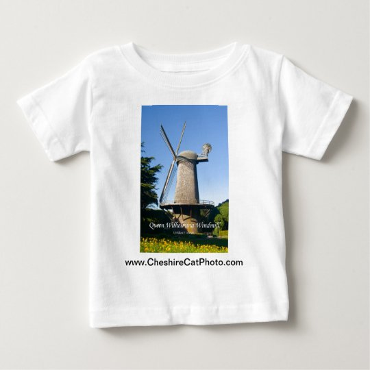 Queen Wilhelmina Windmill California Products Baby T-Shirt