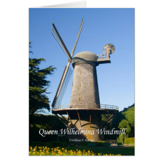 Queen Wilhelmina Windmill California Products Card