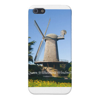 Queen Wilhelmina Windmill California Products iPhone SE/5/5s Case