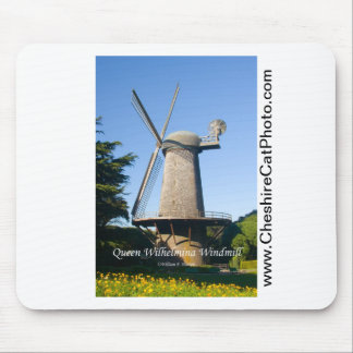 Queen Wilhelmina Windmill California Products Mouse Pad