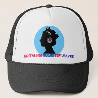QUEEN WITH HEADPHONES Trucker Hat