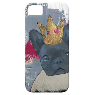 Queen Zoey the French Bulldog iPhone SE/5/5s Case