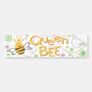 QueenBee BumperSticker Bumper Sticker