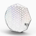 """QueenBee in Colorfull Honeycomb Award<br><div class=""""desc"""">Get your phone Soothed in Royal style! Busy doing a Classy and Playfull Honeycomb make-over,  the Queen Bee goes with the Color-flowed Hexagon patterns in this New Design.</div>"""