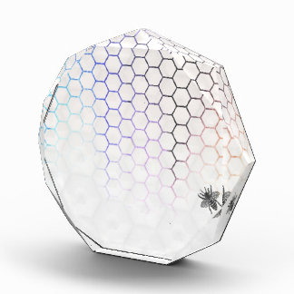 QueenBee in Colorfull Honeycomb Award
