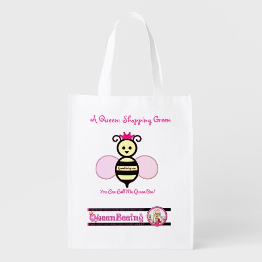 QueenBeeing Resuable Grocery Bag