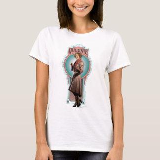 Queenie Goldstein Art Deco Panel T-Shirt