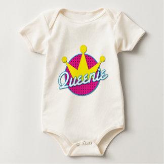 Queenie Rockabilly design Baby Bodysuit
