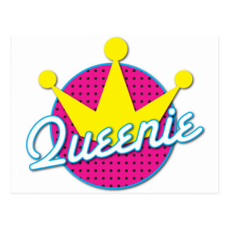 Queenie Rockabilly design Postcard
