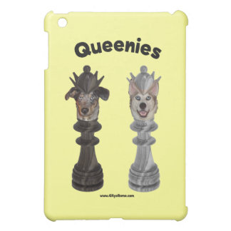 Queenies Chess Dogs Case For The iPad Mini