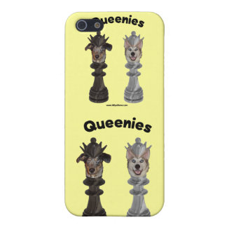 Queenies Chess Dogs iPhone 5 Covers