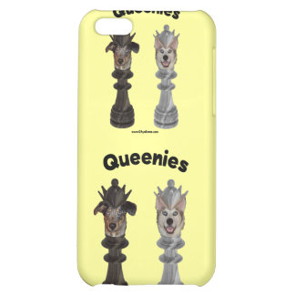 Queenies Chess Dogs iPhone 5C Cases