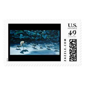 Queenie's pullets stamp