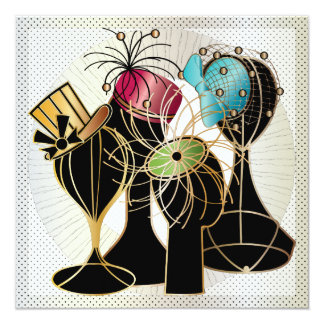 Queenly Hats Customized Invitation Cards