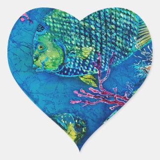 QueenOftheSea24-5x28ppi288AdobeRGBprofilebritr_Sue Pegatina En Forma De Corazón