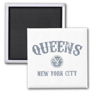*Queens 2 Inch Square Magnet
