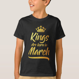 Queens are Born in March V01-04-b-05-05-06-06 T-Shirt