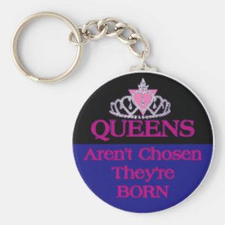Queens-Aren't-Chosen Key Chains