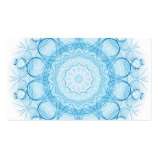 Queens azul tarjetas de visita