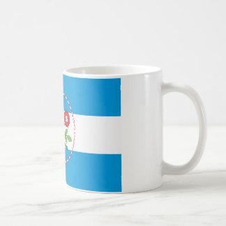 Queens Borough Flag Classic White Coffee Mug