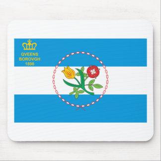 Queens Borough Flag Mouse Pad