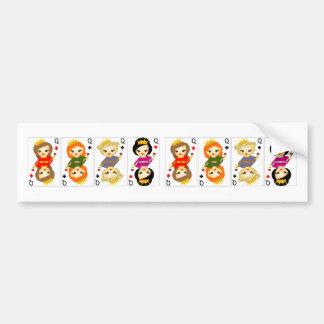 Queens Bumper Sticker