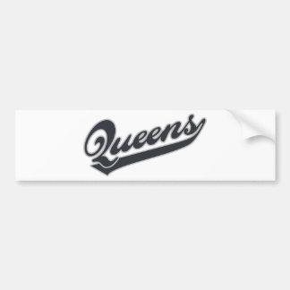 *Queens Bumper Sticker