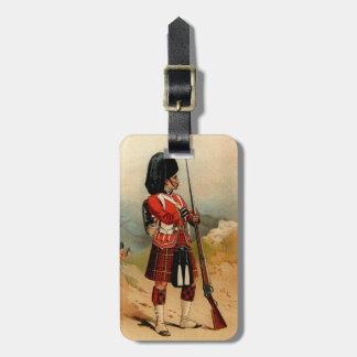 Queens Cameroon Highlanders Travel Bag Tags